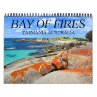 bay of fires tasmania 2021 calendar