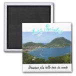 Bay of Holy (Guadeloupe) Fridge Magnet