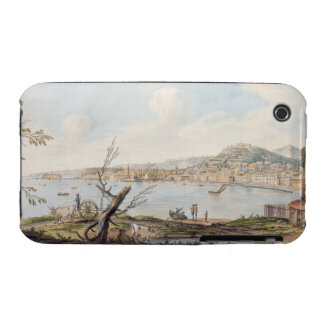 Bay of Naples from sea shore near the Maddalena Br Case-Mate iPhone 3 Case