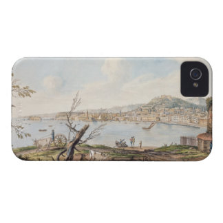 Bay of Naples from sea shore near the Maddalena Br iPhone 4 Case-Mate Case