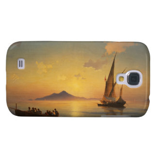 Bay of Naples Ivan Aivazovsky seascape waterscape Galaxy S4 Cover