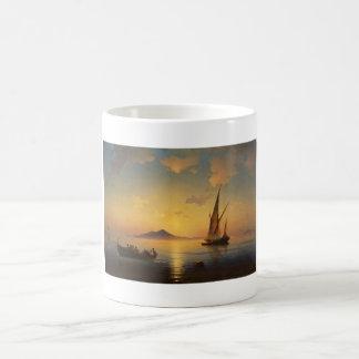 Bay of Naples Ivan Aivazovsky seascape waterscape Coffee Mug