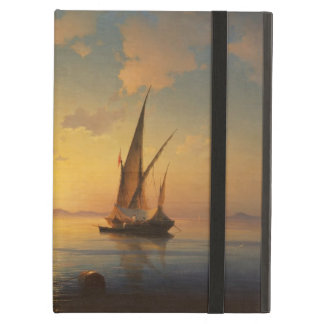 Bay of Naples Ivan Aivazovsky seascape waterscape iPad Air Cover