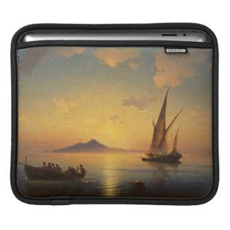 Bay of Naples Ivan Aivazovsky seascape waterscape iPad Sleeves