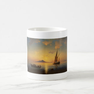 Bay of Naples Ivan Aivazovsky seascape waterscape Mugs