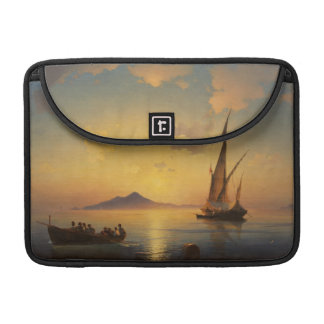 Bay of Naples Ivan Aivazovsky seascape waterscape Sleeve For MacBook Pro