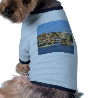 bay of Neos Marmaras Greece Pet Tshirt