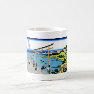 Bay of Noboto Katsushika Hokusai Fuji view Classic White Coffee Mug