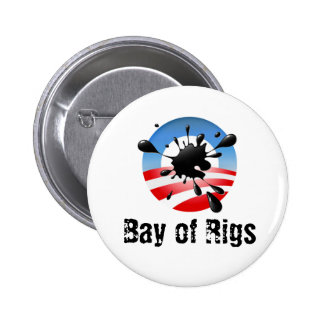 Bay of Rigs Pinback Button
