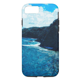 Bay On The Road To Hana Maui Abstract iPhone 7 Case