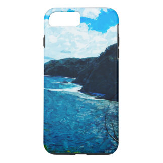 Bay On The Road To Hana Maui Abstract iPhone 7 Plus Case