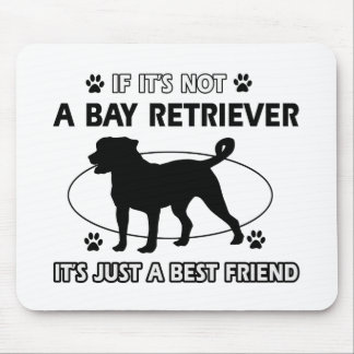 BAY RETRIEVER best friend designs Mouse Pad