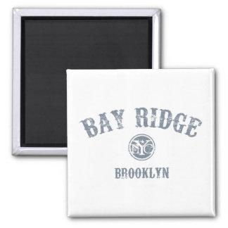 Bay Ridge 2 Inch Square Magnet