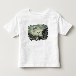 Bay Scene in Moonlight, 1787 (w/c over pencil on p Toddler T-shirt