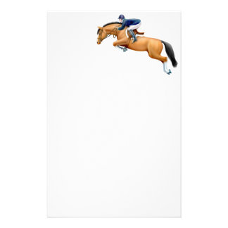 Bay Show Jumper Horse Stationery