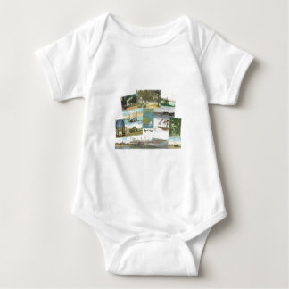 Bay St. Louis Collage Baby Bodysuit