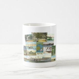 Bay St. Louis Collage Classic White Coffee Mug