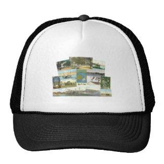 Bay St. Louis Collage Trucker Hat