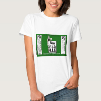 BAY STATE ALE BEER CAN DESIGN COMMONWEALTH BREWING T-SHIRTS