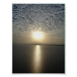 Bay Sunrise Poster