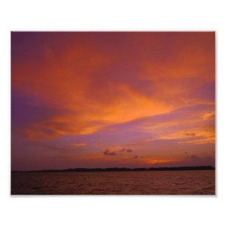 Bay Sunset Photo Print
