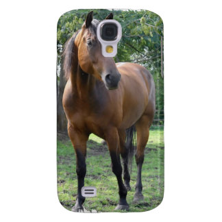 Bay Thoroughbred Horse iPhone 3G Case Samsung Galaxy S4 Case