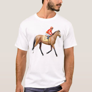 Bay Thoroughbred Racehorse T-Shirt