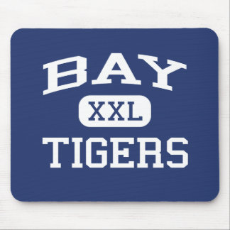 Bay - Tigers - High - Bay Saint Louis Mississippi Mouse Pad