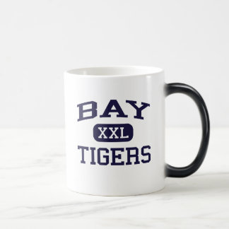 Bay - Tigers - High - Bay Saint Louis Mississippi 11 Oz Magic Heat Color-Changing Coffee Mug