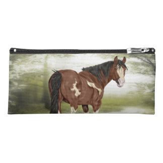 Bay Tobiano Paint Horse Pencil Case