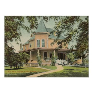 Bay View Cottage - Kelleys Island, Ohio Poster
