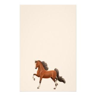 Bay Walking Horse Stationery