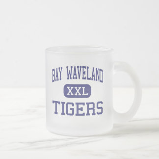 Bay Waveland Tigers Middle Bay Saint Louis 10 Oz Frosted Glass Coffee Mug