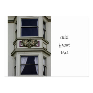 Bay Window in San Francisco Large Business Cards (Pack Of 100)