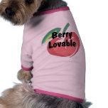 Baya adorable camisa de perro