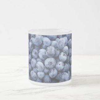 Baya de las bayas de la fruta del bocado de los taza de café esmerilada