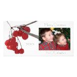 Baya del invierno - Photocard Tarjeta Fotográfica Personalizada