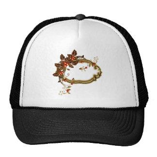 Baya del otoño enmarcada gorra