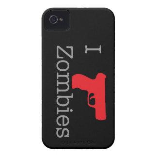 Baya negra del zombi iPhone 4 Case-Mate cárcasa