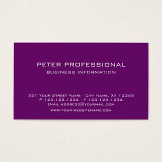 Baya profesional moderna del color de la tarjeta