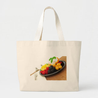 Baya y ensalada del requesón bolsa de mano