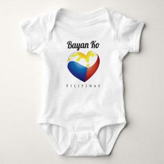 Bayan Ko Philippine Heart, Infant T Shirt