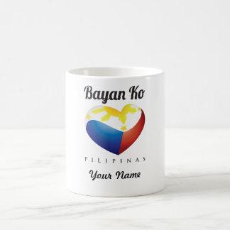 Bayan Ko Pilipinas, Heart Flag Custom Mug