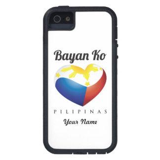 Bayan Ko Pilipinas, Heart Flag Phone Customize iPhone SE/5/5s Case