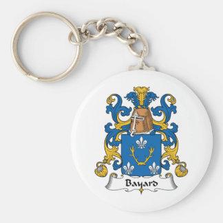 Bayard Family Crest Key Chains