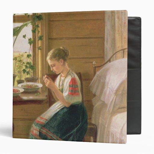 "Bayas de la peladura del chica, 1880 carpeta 1 1/2"""