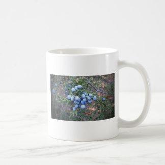 Bayas del cedro taza de café