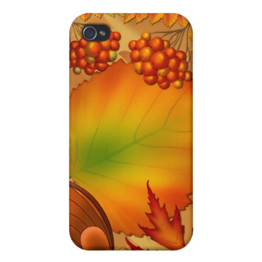 Bayas del otoño iPhone 4/4S carcasa