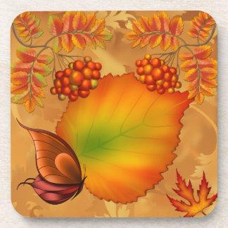 Bayas del otoño posavasos