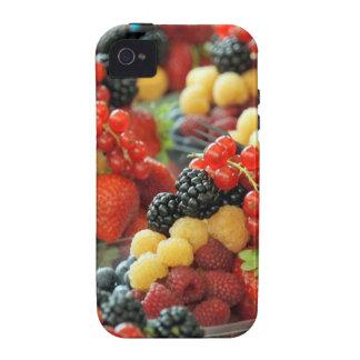 bayas frescas iPhone 4 funda